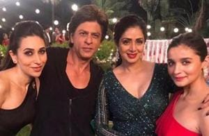 Sridevi will be seen one last time in Shah Rukh Khan's Zero. See pics