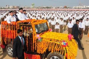 RSS chief Mohan Bhagwat urges swayamsevaks to unite Hindus