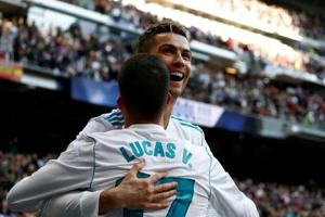 Cristiano Ronaldo scores brace as Real Madrid beat Alaves 4-0 in La...