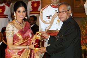 'Sridevi was awarded Padma Shri by the UPA': Twitter slams Cong for...