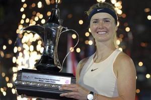 Elina Svitolina wins back-to-back Dubai Championships