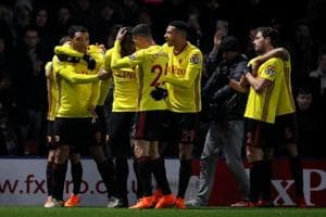 Watford beat Everton, pull clear of Premier League drop zone