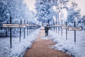 30+ years later: Haunting pictures of Chernobyl in infrared photography