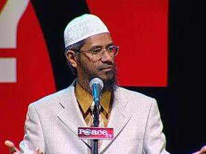Zakir Naik was banned from Britain in2010.