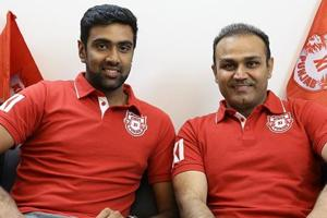 R Ashwin was named the Kings XI Punjab captain by the Indian Premier League franchise's mentor Virender Sehwag.