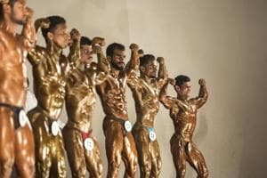 Muscle power: Mumbai men compete in bodybuilding competition