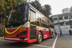 Currently, BEST has a fleet of more than 3300 buses, including four electric buses. Electric buses are eco-friendly as they don't emit gases and make less noise.