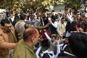 Noida farmers have been demanding additional compensation for their agricultural land acquired since 1976.