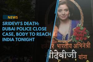 Sridevi's death:Dubai Police close case, body to reach India tonight