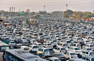 The NHAI, in February, had granted permission to the Gurgaon police to execute lane diversion arrangements on a trail basis to streamline traffic movement by separating toll paying commercial vehicles from non-commercial vehicles, which used to create snarls.