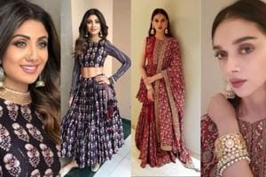 Anxious to get shopping for your celeb-inspired boho wardrobe? Here's help via actors Shilpa Shetty and Aditi Rao Hydari. (Instagram)