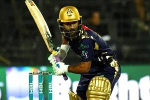 Pakistan Super League: Action continues to unfold before empty stands...