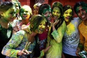 Holi in Delhi University hostels is all about keechad, bhang and mud pits.