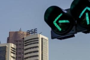 Sensex inches higher on positive GDP data, Nifty above 10,500