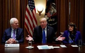 Trump shocks Republicans, calls for comprehensive gun control...