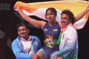 Navjot Kaur wins Asian wrestling gold; Sakshi Malik settles for...