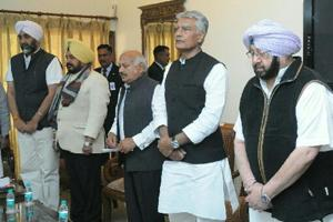 Punjab chief minister Captain Amarinder Singh met 72 party MLAs, MPs and ministers from the state cabinet, on Thursday.