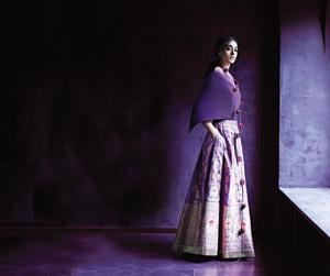 Payal Khandwala's festival collection experiments with ultraviolet in all its looks.