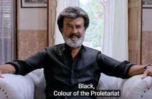 Rajinikanth in a still from the Kaala teaser.