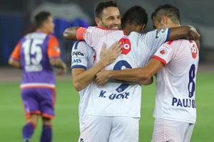 Delhi Dynamos played out a 2-2 draw against FC Pune City in their last...