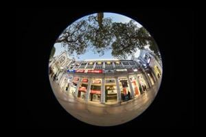 Photos: Connaught Place as a circle, this time through the camera