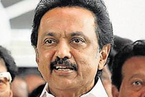 DMKleader MKStalin  suggested that all MPs from Tamil Nadu should resign if the Centre fails to immediately set up  Cauvery Management Board .