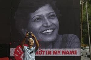 Journalist Gauri Lankesh was found murdered outside her house in Bengaluru on September 5, 2017. She had been shot four times by an assailant wearing a helmet, police investigation revealed.