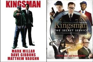 Mark Millar and Dave Gibbons' first comic in the Kingsman series was adapted into a 2014 film by Matthew Vaughn.