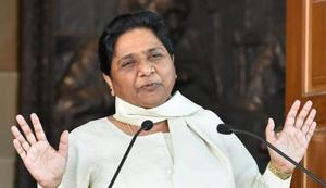Mayawati wished to keep the door open for the Congress as well even as she was annoyed over former national general secretary Naseemuddin Siddiqui joining that party.