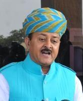 Rajasthan MLA Bhawani Singh Rajawat.