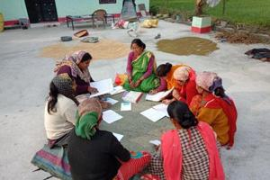Women of Self Help Group in Ramnagar have composed a song to sensitise people about forest and wildlife conservation.