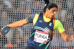 Seema Punia first participated in the 2006 Melbourne edition of Commonwealth Games, winning silver.