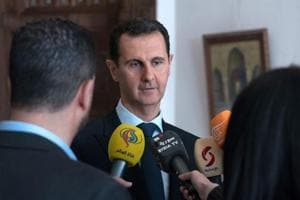 Syrian President Assad slams chemical attacks allegations as 'western...