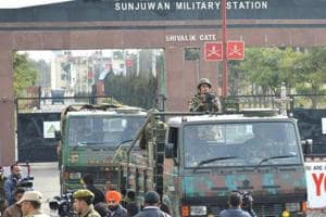 Terrorists attacked Sunjuwan Military Station in Jammu on February 10 in which six soldiers and one civilian were killed.