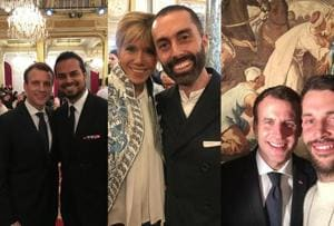 Indian fashion designers, global style leaders meet French president...