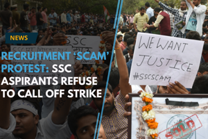 Recruitment 'scam' protest: SSC aspirants refuse to call off strike