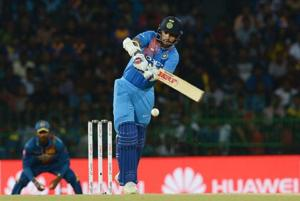 Shikhar Dhawan's 90 went in vain as Sri Lanka comfortably chased down India's total in the opening match of the Nidahas Trophy T20 series in Colombo on Tuesday.