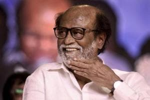 On Monday, Tamil actor Rajinikanth unveiled a statue of former Tamil Nadu chief minister MG Ramachandran at Dr MGR Educational and Research Institute in Chennai.