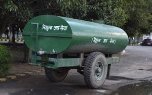 Residents said they had to purchase water from private tankers to meet their daily needs.