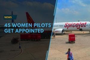 On the eve of International women's day, SpiceJet appointed 45 women...