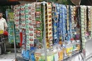 Soon, shops selling eatables such as biscuits or milk will not be allowed to sell tobacco products.