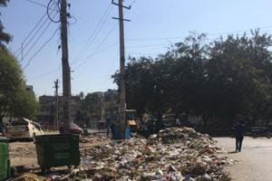 Residents of New Colony and adjoining areas have appealed to the MCG to remove garbage from Guru Govind Singh Park.