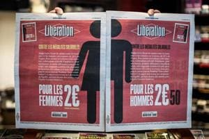 To highlight gender pay gap, French newspaper charges men 25% more on...