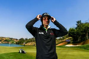 Day one of the Indian Open golf tournament saw Emiliano Grillo take the lead, whilst young Indian sensation Shubhankar Sharma finished tied 57th.