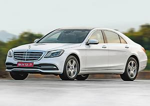 The the S-Class is the first Mercedes in India to get some form of semi-autonomous tech with its suite of Advanced Driver Assistance Systems (ADAS).