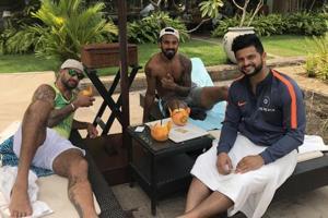 Nidahas Trophy 2018: Cricket stars Raina, Dhawan celebrate T20 win vs...