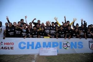 Minerva Punjab won the I-League crown in Panchkula on Thursday.