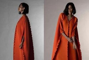 A creation from the Wendell Rodricks label, from the A/W 2017 collection. The designer has accused Payal Khandwala of copying his designs.