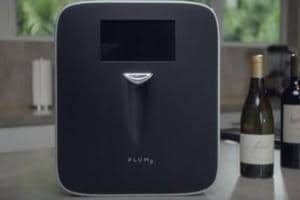 The Plum machine: Now you can enjoy a glass of wine with a single...