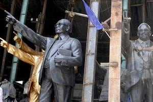 Ambedkar statue vandalised in a village in Uttarakhand's Haridwar